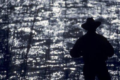 Photo: Fisherman on an Idaho River.