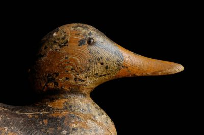 Photo: Vintage/antique duck decoys from the turn of the century.