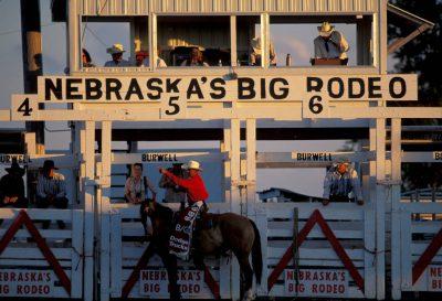 Photo: Scene from Nebraska's Big Rodeo in Burwell.