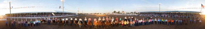 Photo: The 85th annual performance of Nebraska's Big Rodeo in Burwell, NE.