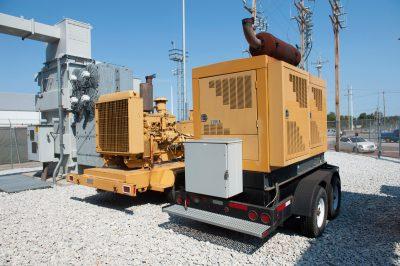 Photo: Equipment at a utility plant, Lincoln, Nebraska.
