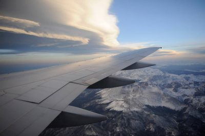 Photo: Scene from a flight from San Francisco to Denver.